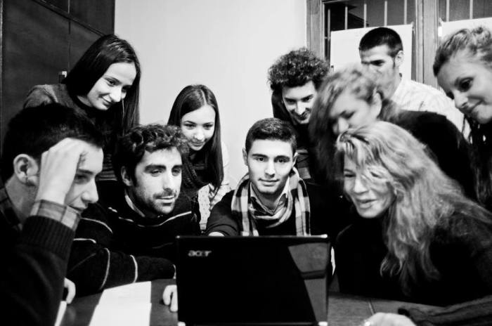 Next generation of filmmakers - Photo by Eroll Bilibani